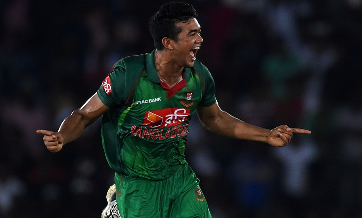 Taskin's hat-trick stops Sri Lanka at 311