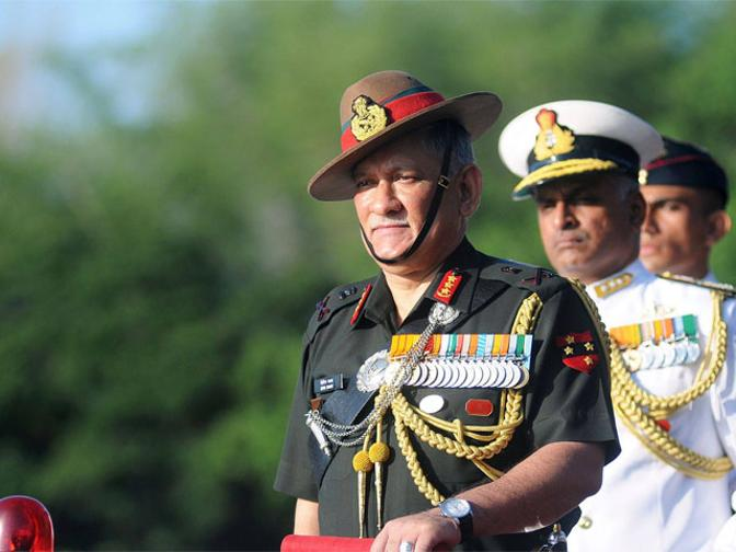 Indian Army chief due on March 31