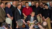 Trump scraps Obama climate policies
