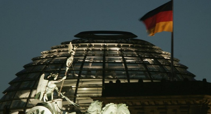 German unemployment hits new record low