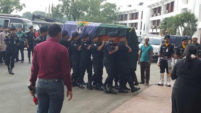 Lt Col Abul Kalam Azad's namaz-e-janaza held