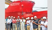 WMSL launches largest-ever ship built in Bangladesh