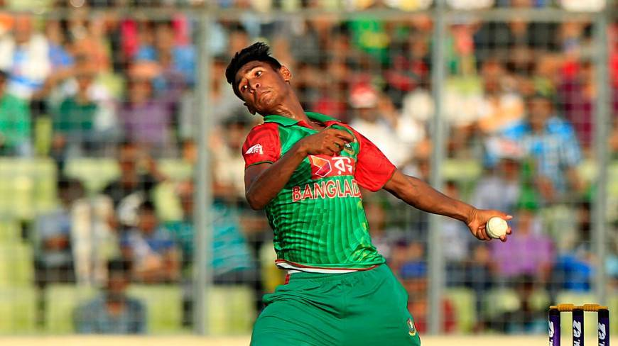 Mustafiz removes Mendis , Sri Lanka 200 for 5