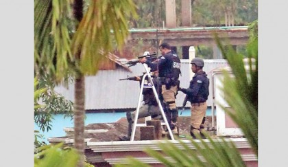 Blasts, gunshots rock Barohat