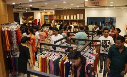 Aarong now at Bashundhara City Shopping Mall | 2017-04-01