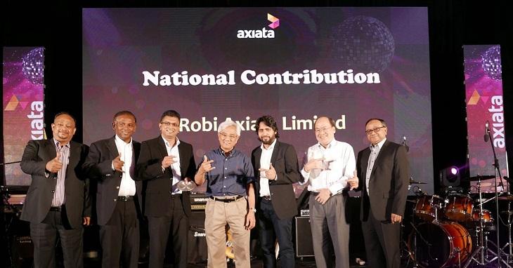 Robi wins Axiata Best People Management Award again
