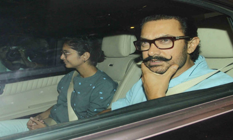Aamir Khan and Kiran Rao visit Karan Johar to meet his twins