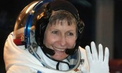 World's oldest spacewoman sets spacewalking record
