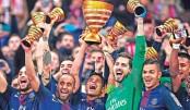 Di Maria sparkles as PSG retain League Cup