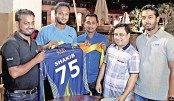 Shakib signs for Gazi Group Cricketers