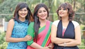 Badhon, Alvi, Nadia Mim acting in same drama serial