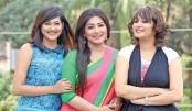 Badhon, Alvi, Nadia Mim acting in same drama serial
