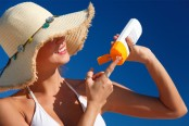 Re-applying sunscreen helps in preventing tanning