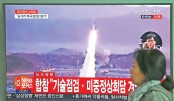 N Korea fires missile into Sea of Japan
