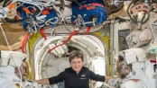 Veteran NASA spacewoman getting 3 extra months in orbit