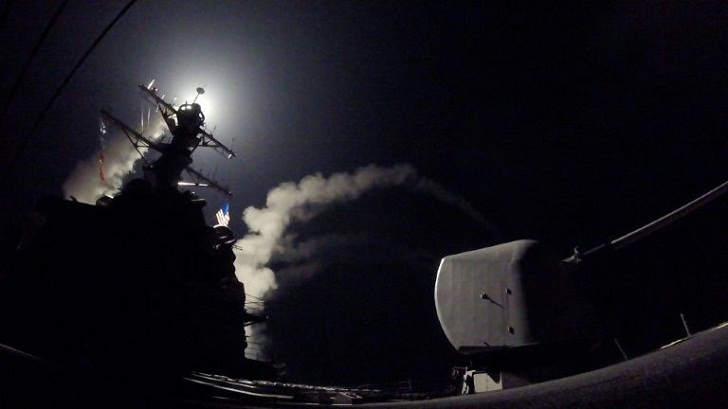 Asian energy firms rally after US strikes Syria