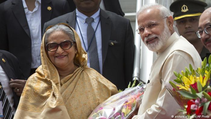 India aims to woo Bangladesh away from China