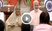 Why Modi and Hasina laughed and laughed, for a whole minute (Video)