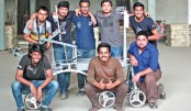 With an eye on Mars, BRACU students make Mars Rover