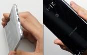 Watch the Samsung Galaxy S8+ vs iPhone 7 Plus drop test