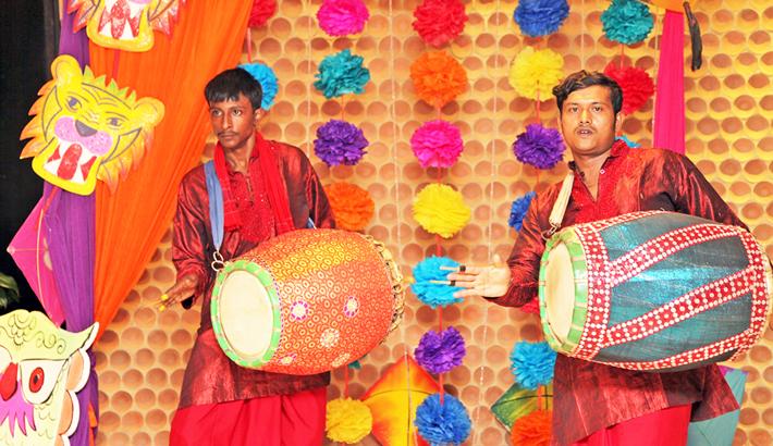 Amari Dhaka To  Welcome Baishakh With Dhak Dhol