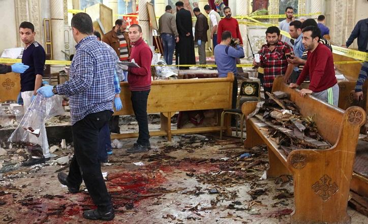 Egyptian worshippers recall horror of church blast