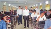 SAU entry test held