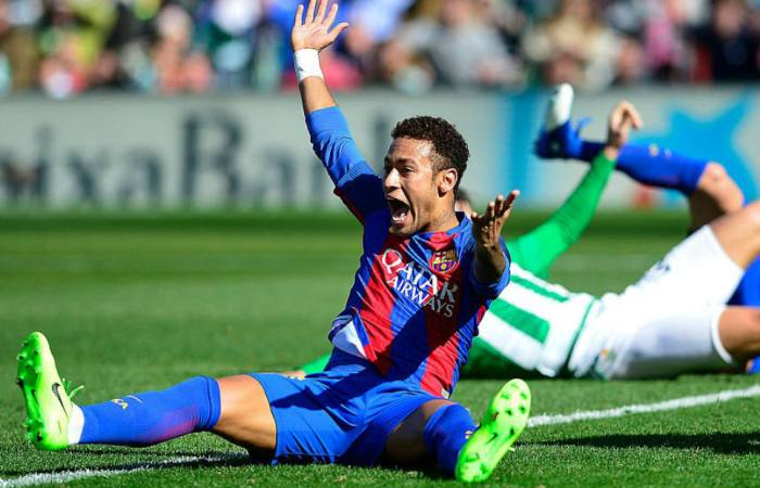 Neymar banned for 3 matches