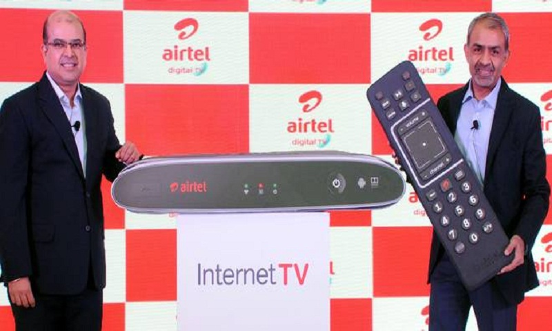 Airtel launches Internet TV