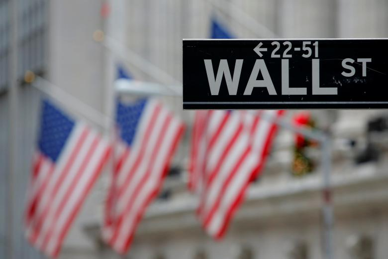 US stock indexes post modest losses; bond yields slump