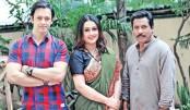 Mosharraf, Purnima, Noble together in a drama
