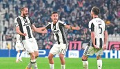 Dybala hits double as Juve stun Barca