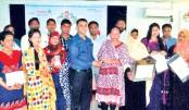 'Safe Home' campaign of Bashundhara LPG held at Rangamati