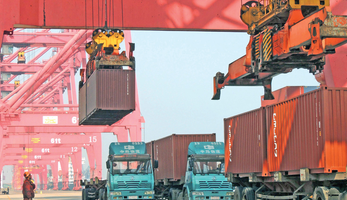China economic outlook brightens  as trade up, tensions down