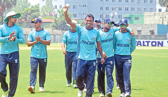 Nasir smashes ton, Rubel bags six wickets in DPL