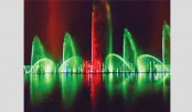 Amphitheater, musical dancing fountain at Hatirjheel opens