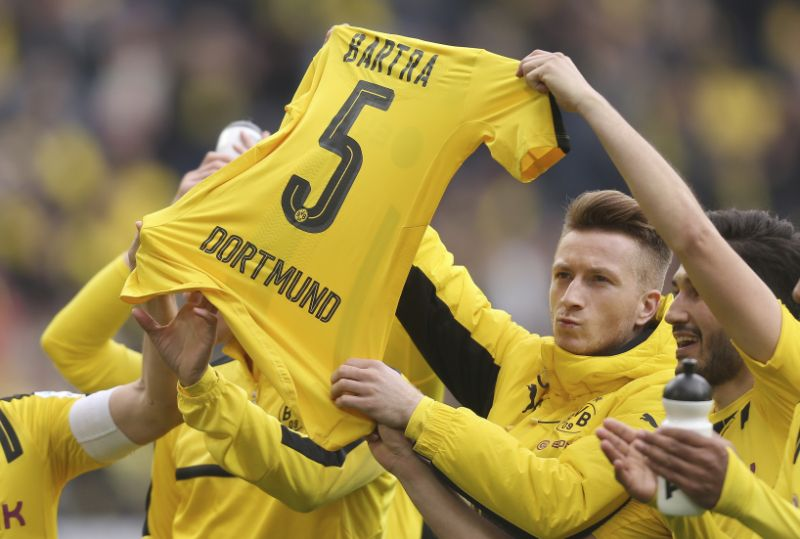 Reus boost for Dortmund after attack with 3-1 win in Germany
