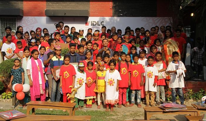 IDLC celebrates Bengali New Year with underprivileged children