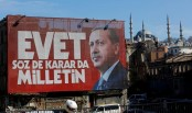 'Yes' leads with 57% in Turkey referendum: partial count