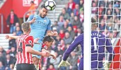 Man City up to third, Spurs hot on Chelsea's heels