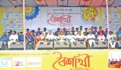 Cultural programme jointly organised by Mukto Manch Sangskritik goshthi