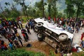 10 killed in bus accident in southwest China