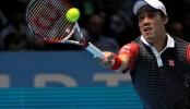 Nishikori replaces Nadal in top five