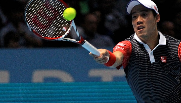 Nishikori replaces Nadal in top five