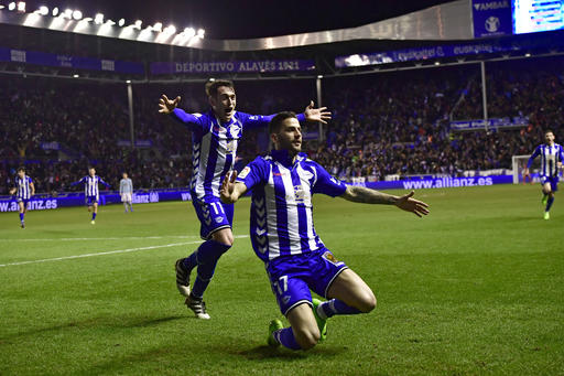 Alaves beats Villarreal 2-1 in Spanish league