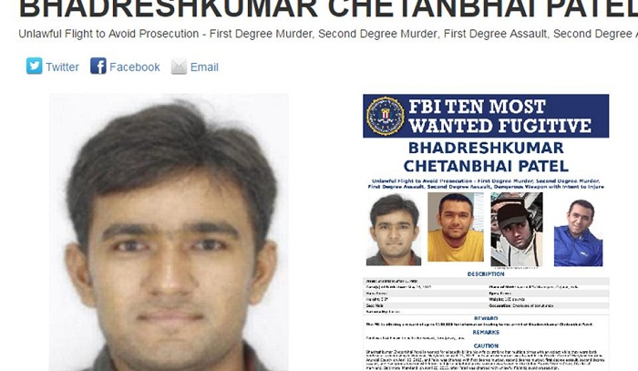India-born man in FBI's most wanted list