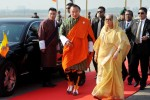 Prime Minister Sheikh Hasina arrives Thimphu on three-day state visit
