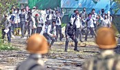 Kashmiri students clash with Indian troops; dozens injured