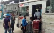 Sitting bus service ends, direct  service begins