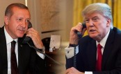 Trump congratulates Erdogan on referendum victory